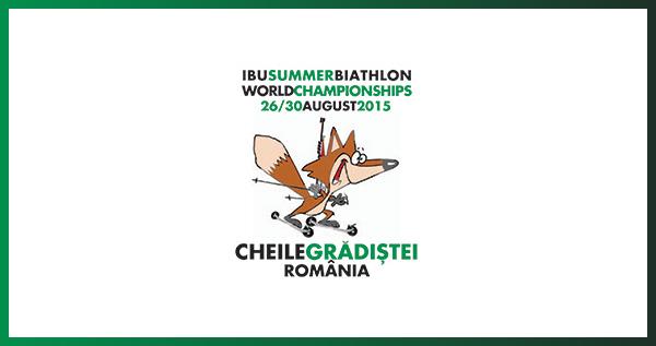 Logo Mistrovství světa v letním biatlonu 2015
