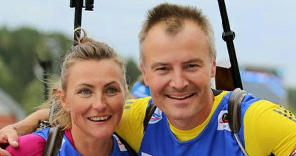 Florence Baverelová-Robertová a Sven Fischer