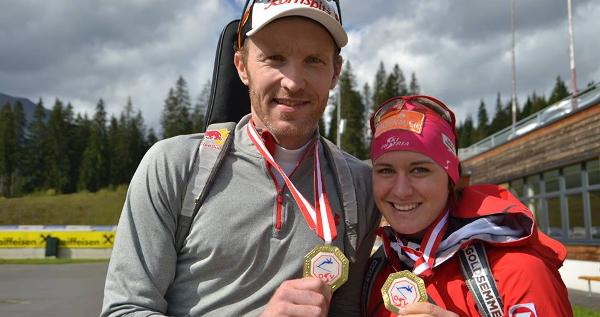 Simon Eder a Katharina Innerhoferová