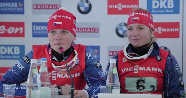 Eva Puskarčíková a Lucie Charvátová