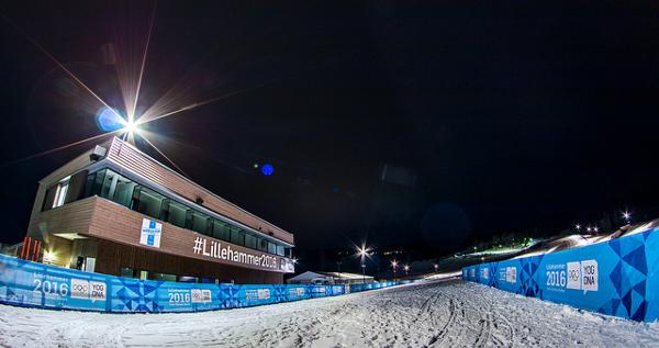 Stadion v Lillehammeru