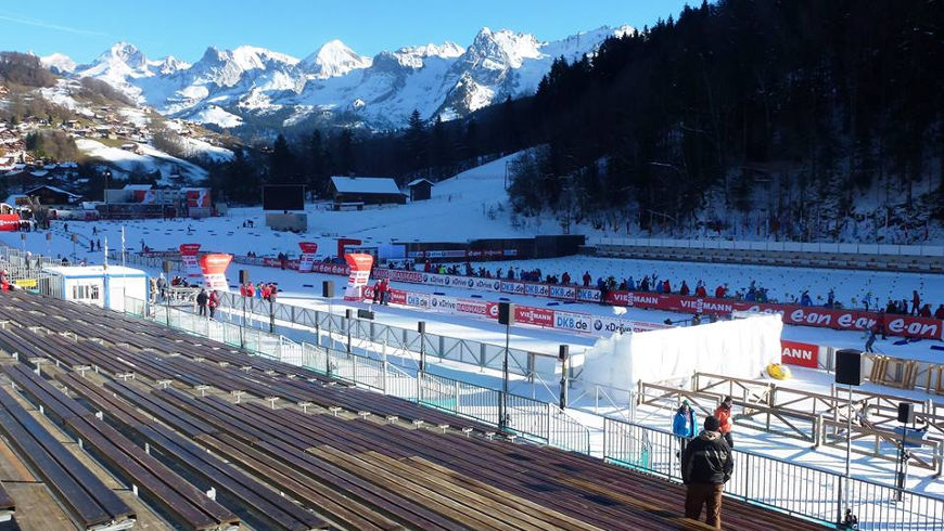 Le stade Sylvie Becaert v Annecy