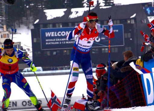 M. Fourcade a Bjørndalen