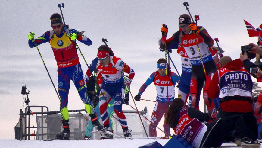 M. Fourcade, Svendsen, Šipulin, Landertinger