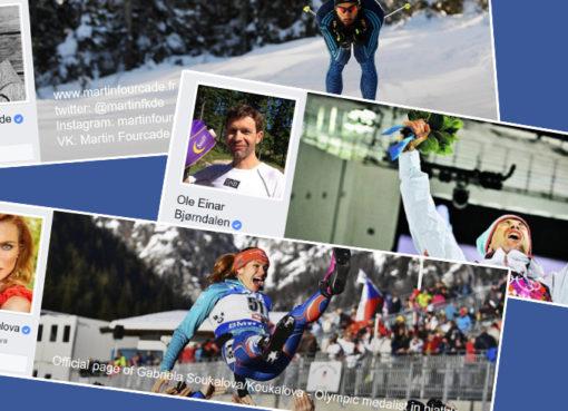 biatlonisté Facebook
