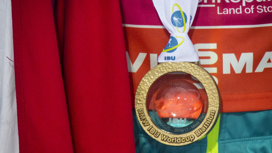 Zlatá medaile Gabriely Koukalové