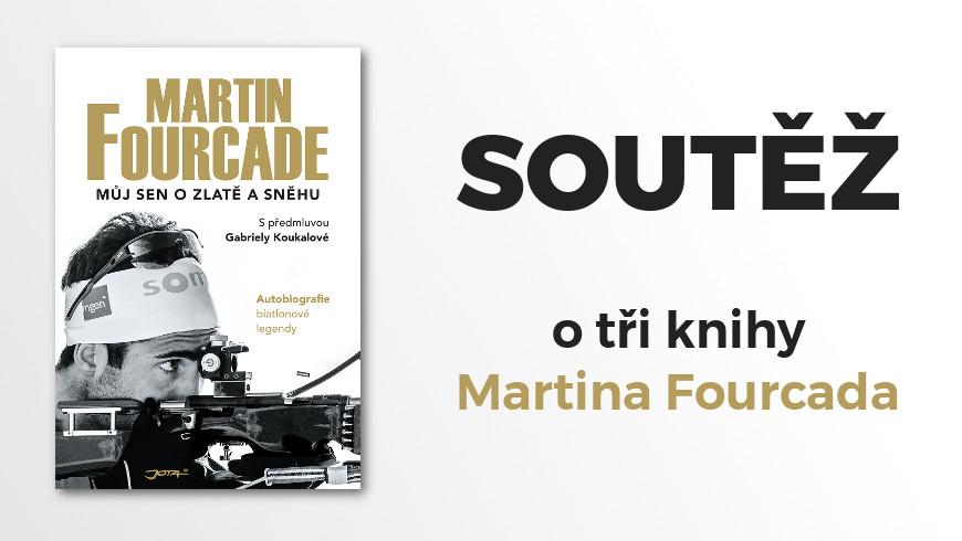 Soutěž kniha Martin Fourcade