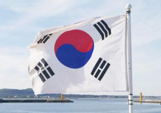 Jižní Korea vlajka