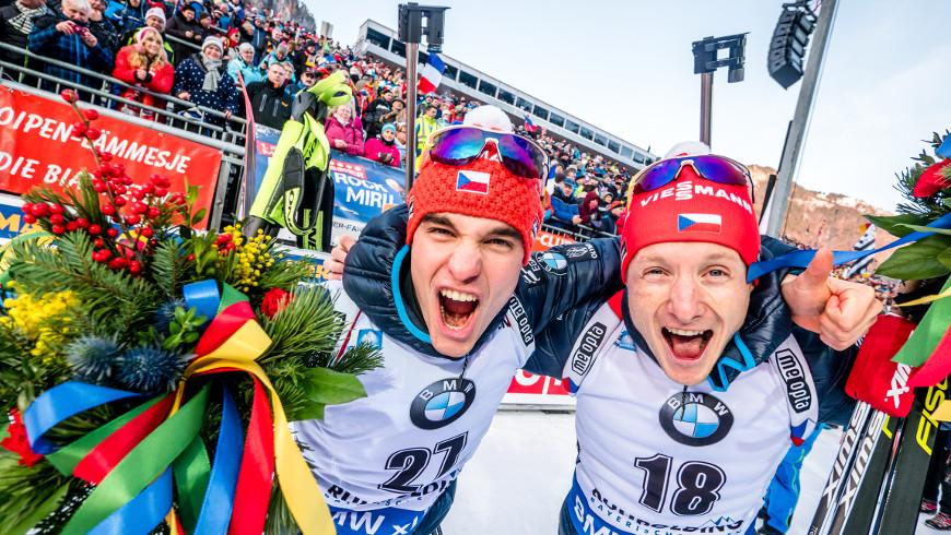 Michal Krčmář a Ondřej Moravec