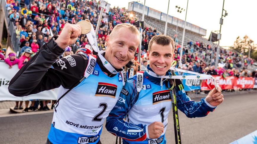 Ondřej Moravec a Michal Krčmář