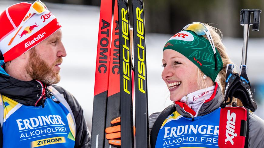 Simon Eder a Lisa Hauserová