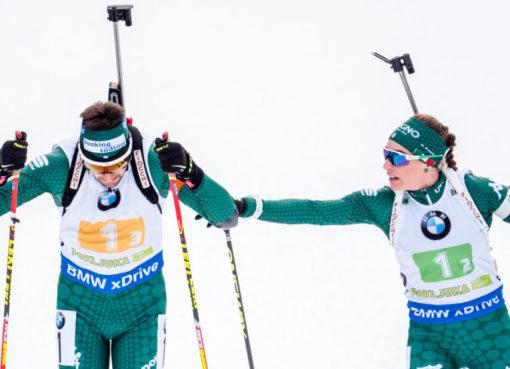 Dominik Windisch a Dorothea Wiererová
