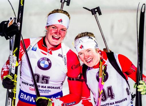 Sarah Beaudryová a Emma Lunderová