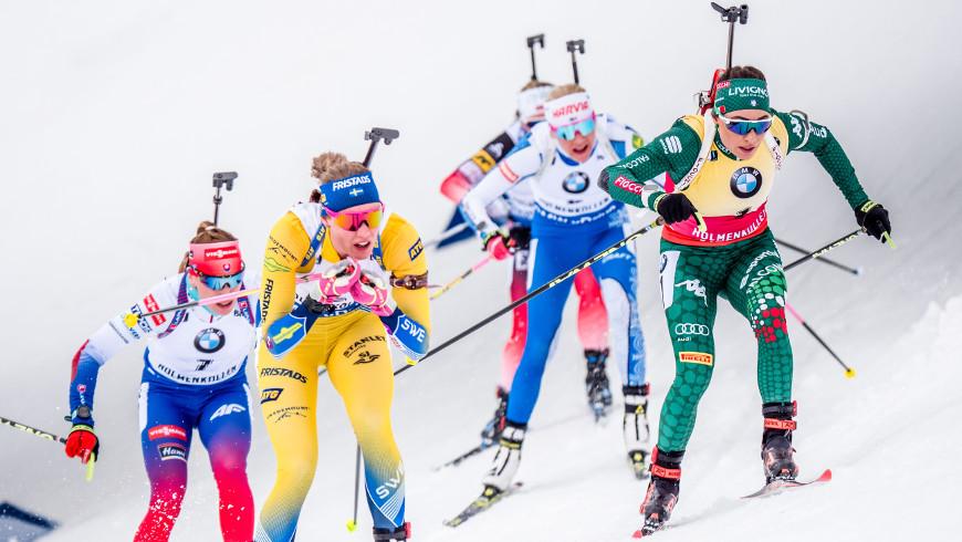 Biatlonistky v Oslu