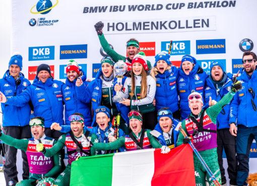 Dorothea Wiererová s italským týmem