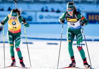 Dorothea Wiererová a Lisa Vittozziová