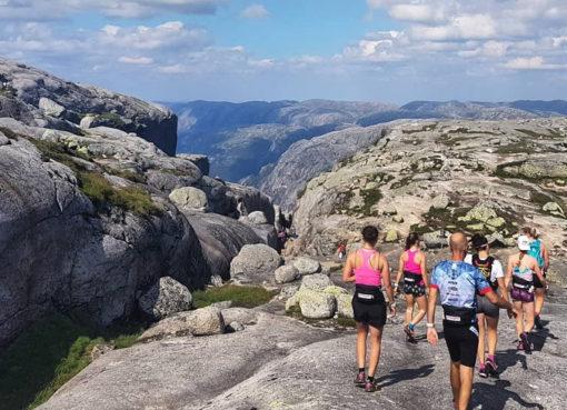 České biatlonisty v Norsku