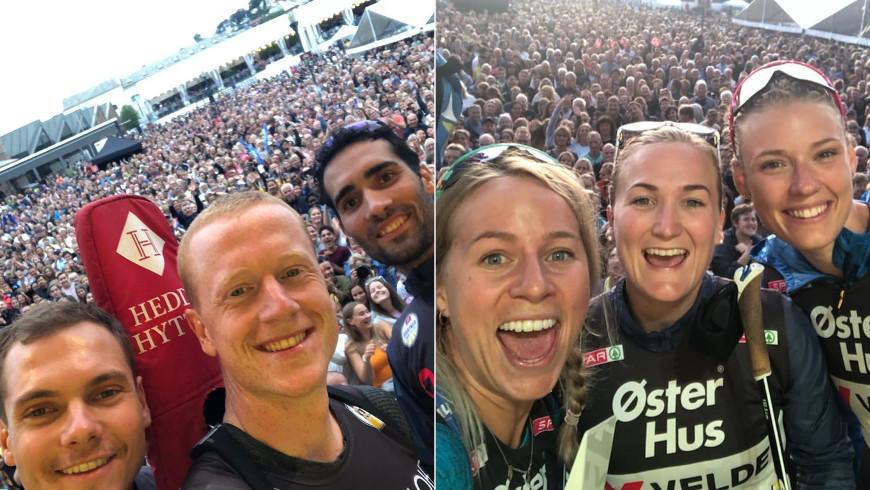 Selfie z Blinkfestivalenu